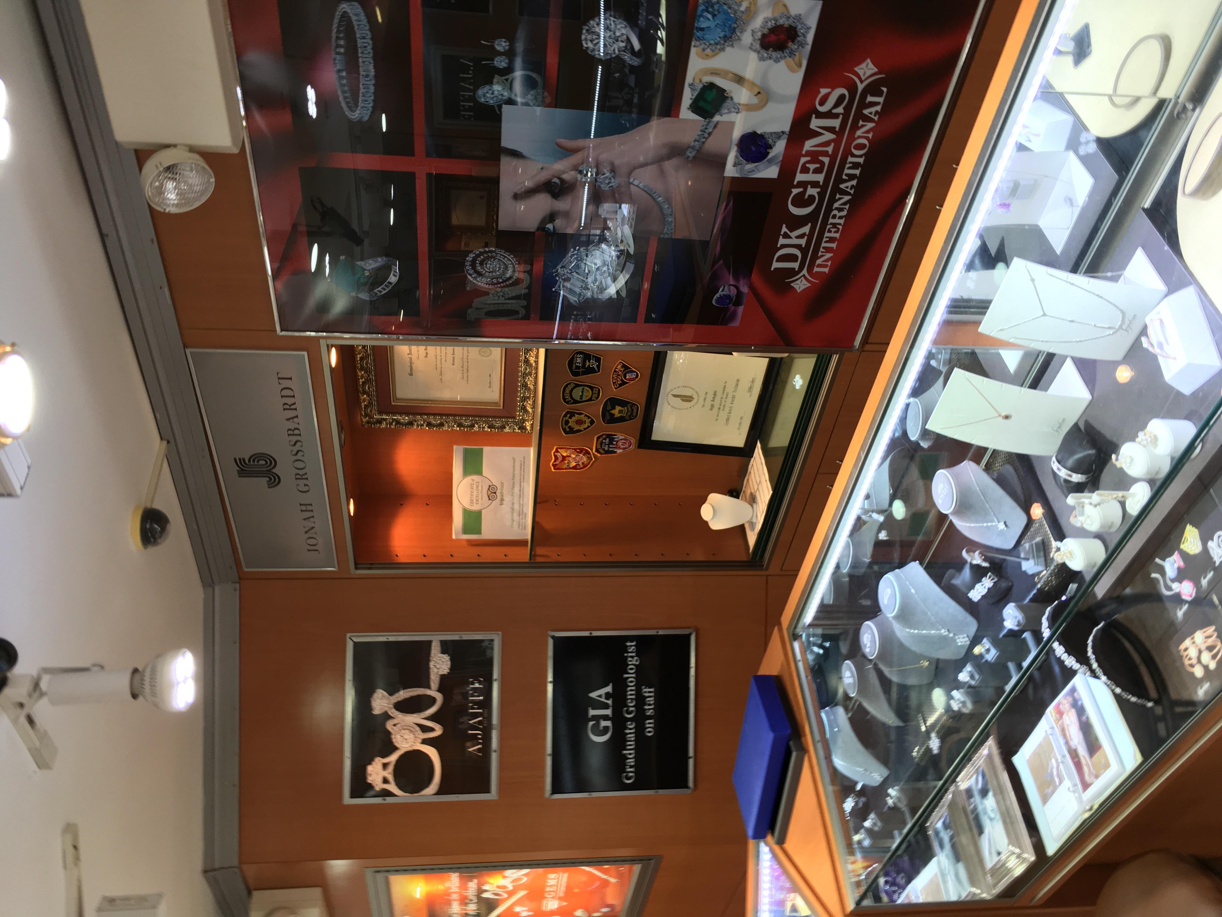 jewelry stores in st maarten Certificate of excellence fromTripadvisor for DK Gems BEST Sint Maarten Jewelry store