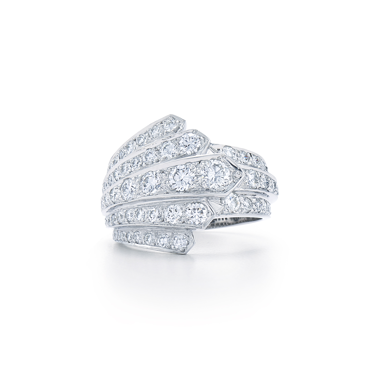 ring pave band plat in with set round solitaire platinum engagement brilliant diamond style jewelry halo kwiat and