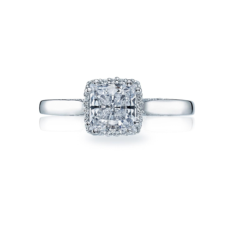 dantela pave engagement ring dk gems