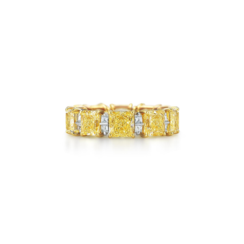 yellow diamond wedding band ring - Yellow Diamond Wedding Ring