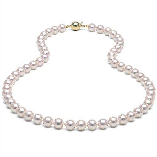 pearl necklace june birthstone gemstone jewels at DK Gems St Maarten jewelry stores