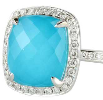 turquoise ring december birthstone gemstone jewelry at DK Gems St Maarten jewelry stores