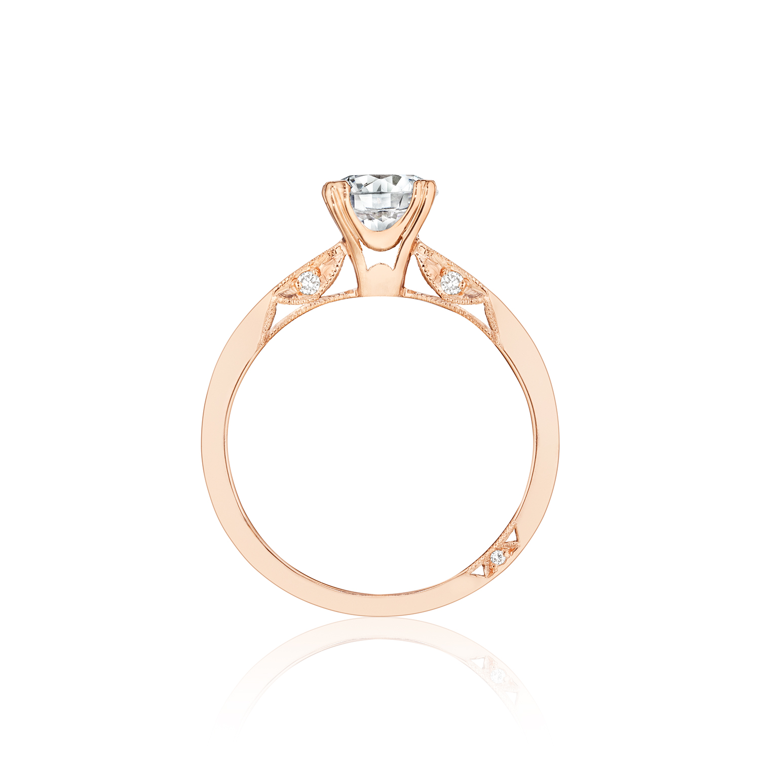 upscale product engagement wedding rose tiffany a harmony with diamond false band ring central matching rings in scale solitaire gold crop shop subsampling