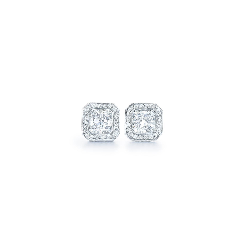 Diamond Stud Earrings At Dk Gems Online